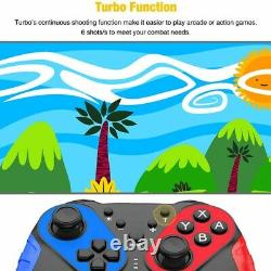 10XWireless Bluetooth Nfc Remote Pro Game Controller For Nintendo Switch G W5C2