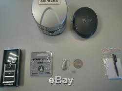 1xDigital Hearing Aid Pure 3 BX Binax+Free Remote+Charger Wireless/Bluetooth APP