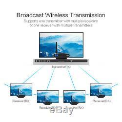 2.4G Wireless Audio Video AV Transmitter Sender and Receiver IR Remote Extender