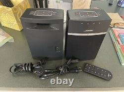 2 Bose Soundtouch 10 Wireless Speakers Bluetooth/App Controlled One Remote