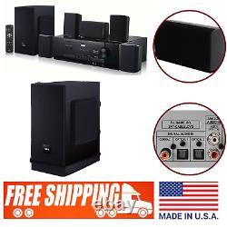5.1 Bluetooth Home Theater Surround Sound Speaker System Wireless Remote Control