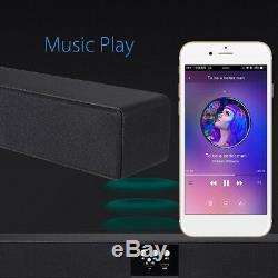 60W Wireless bluetooth Sound Bar 5.1 Soundbar 8 Speaker Remote Home TV Theater