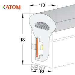ATOM LED RGB Neon Flex 10 18mm Wireless Bluetooth App 220V IP67 RGB neon flex