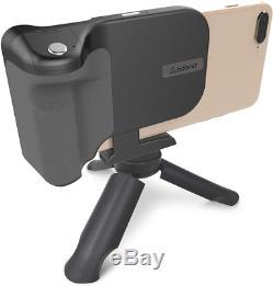 Adonit Photogrip Qi (Black) Bluetooth Camera Shutter Remote + 3000 Mah Wireless