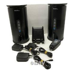 Audio Unlimited 900MHz Wireless Indoor/Outdoor 2 Speaker with Remote & Transmitter