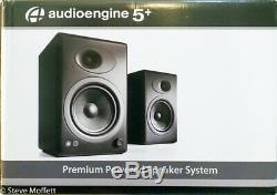 Audioengine A5+ WIRELESS SPEAKER SYSTEM Bluetooth Remote 18 Month Warranty