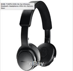 BOSE 714675-0030 On-Ear Wireless Bluetooth Headphone WithMic-Remote (Black)NEW