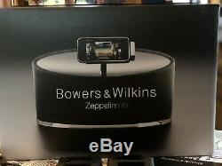 BOWERS & WILKINS ZEPPELINIMINI B&W Wireless Speaker Dock ORIGINAL BOX w Remote