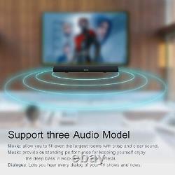 Bestisan 80Watt 34Sound Bar Bluetooth 5.0 Wireless Movie Home Remote Control