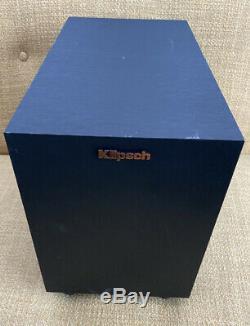 Bluetooth Klipsch RSB-6 2.1 Sound Bar With Wireless Subwoofer- No Remote