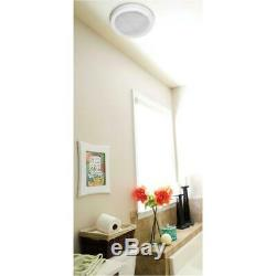 Bluetooth Speaker Wireless Exhaust Fan With Led Light Remote Bathroom 100 Cfm
