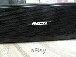 Bose 410376 Solo TV Sound System Black With New Remote