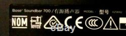 Bose 700 795347-1100 Soundbar Black withRemote ControllerHDMIPlug