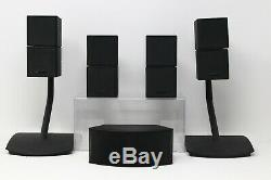 Bose PS48 III SL2 Lifestyle V35 Complete System Stands Remote WIRELESS Surround