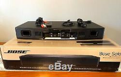 Bose Solo 15 TV System + Remote Free Batteries Optical Digital-RCA Cables & Box