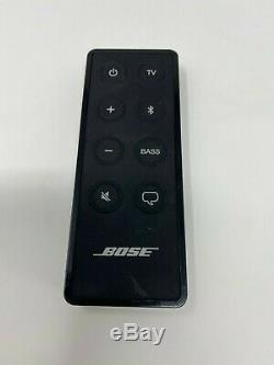 Bose Solo 5 Black TV Sound System with Remote 418775 Wireless Speaker Bluetooth