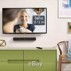 Bose Solo 5 TV Soundbar Bluetooth Sound System w Universal Remote Control- Black