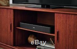 Bose Solo 5 Tv Bluetooth Soundbar Speaker Remote Factory Renewed 1-year Warranty