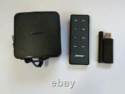 Bose SoundLink Wireless Music System Bluetooth Speaker with Remote & Power & Bag