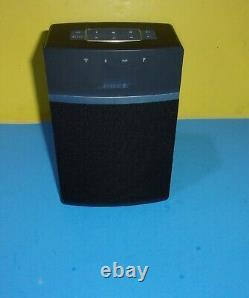 Bose SoundTouch 10 Model 416776 Wireless Bluetooth Speaker- Black No Remote