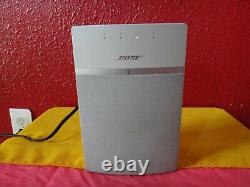 Bose SoundTouch-10 WHITE BlueTooth Wireless Music System & REMOTE Works Fine