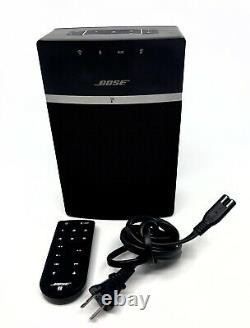 Bose SoundTouch 10 Wireless Music Bluetooth Speaker 416776 Black with Remote
