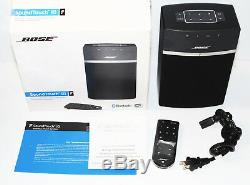 Bose SoundTouch 10 Wireless Music System Black Near Mint withBox & Remote