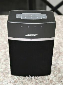 Bose SoundTouch 10 Wireless Music System Model 416776 Black With Remote Bluetooth