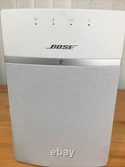 Bose SoundTouch 10 Wireless Music System with Remote White Bluetooth & Wifi
