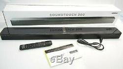 Bose SoundTouch 300 Soundbar System Black with Original Remote 421650