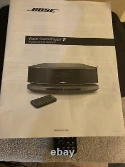 Bose Wave SoundTouch Music System IV Bluetooth/ Wireless WithRemote & Base MINT
