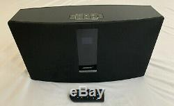 Bose sound touch 30 wireless speaker blue tooth with remote