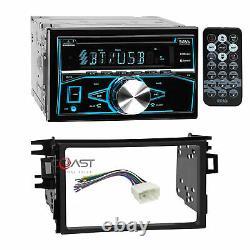 Boss CD MP3 USB Bluetooth Stereo Dash Kit Wire Harness for 1998-02 Honda Accord