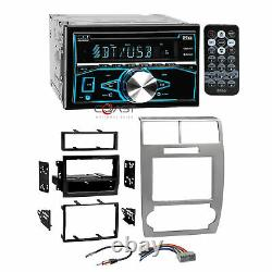 Boss CD MP3 USB Bluetooth Stereo Sil Dash Kit Harness for Dodge Magnum Charger