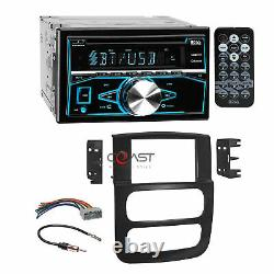 Boss CD USB MP3 Bluetooth Stereo Dash Kit Wire Harness for 2002-05 Dodge Ram