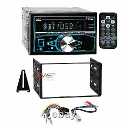 Boss CD USB MP3 Bluetooth stereo Dash Kit Amp Harness for Ford Lincoln Mercury