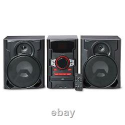 CD Stereo System with Bluetooth Wireless Technology 100W Home Audio with Remote
