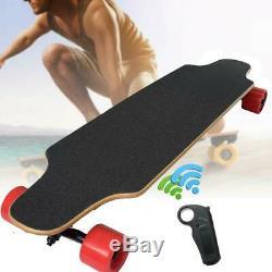 Control Longboard Skate Electric Longboard Wireless Bluetooth Remote Skateboard