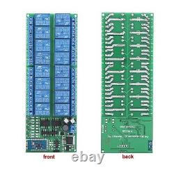DC 12V 16 Channel Bluetooth Relay Board Wireless Remote Control Switch for An
