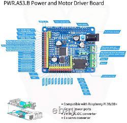 DS Wireless WiFi/Bluetooth Smart Robot Car Kit for Raspberry pi 4B2GB, Remote Hd