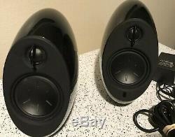 Edifier e25 Luna Eclipse Bluetooth 2.0 Speaker Set Black TESTED No Remote