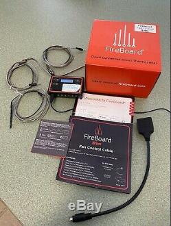 FireBoard Cloud/Wireless/Bluetooth Thermometer FBX11F- with Fan Drive Cable