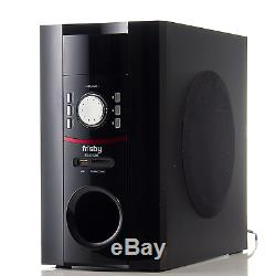 Frisby FS-5015BT Bluetooth USB SD Aux Home Theater Speaker System with Remote