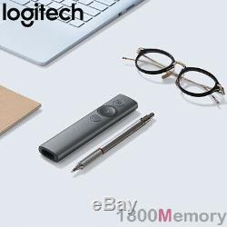 GENUINE Logitech Spotlight Advance Wireless Remote Presenter USB Bluetooth Slate