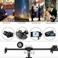 GVM Video Slider, Wireless Carbon Fiber Motor Camera Slider with Bluetooth Remote