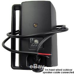 Garden Party/BBQ Outdoor Speaker KitWireless Mini Stereo Amp & 8 Black Speakers