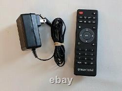 Grace Digital Internet Radio Wireless Network Bluetooth AUX Remote GDI-WHA6001