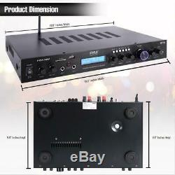 Home Theater Amplifier Audio Receiver Sound System withBluetooth Wireless Streming