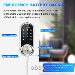 Hugolog Smart Lock Touchscreen Deadbolt Remote Wireless Control & Bluetooth