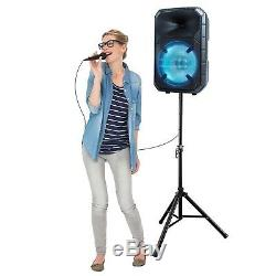 ION Total PA Max Bluetooth PA System 500 Watts Microphone, Stand Wireless Remote
